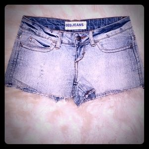 Deb Shorts - Distressed jean shorts